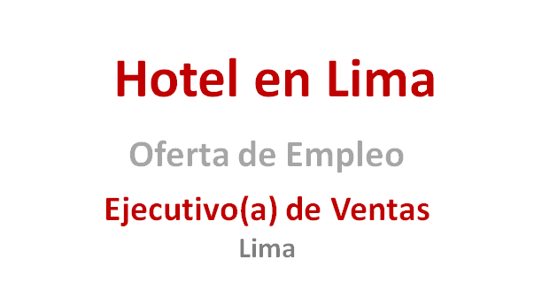 Oferta De Trabajo En Lima - Peru has no reviews yet. Tell people what you think. See All. Photos. See All. Posts. Oferta De Trabajo En Lima - Peru added 2 new photos. Sp S on S so S red S · September 5 at AM · Oferta De Trabajo En Lima - Peru added 3 .