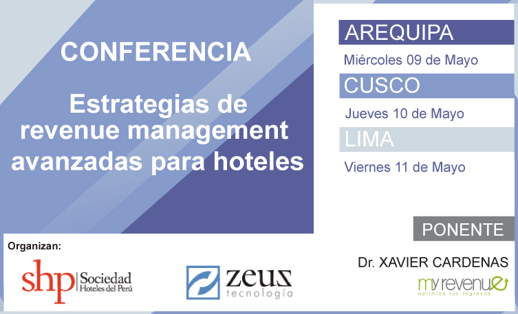 Conferencia-de-revenue-management-avanzada-lima-arequipa-cusco-mayo-2018