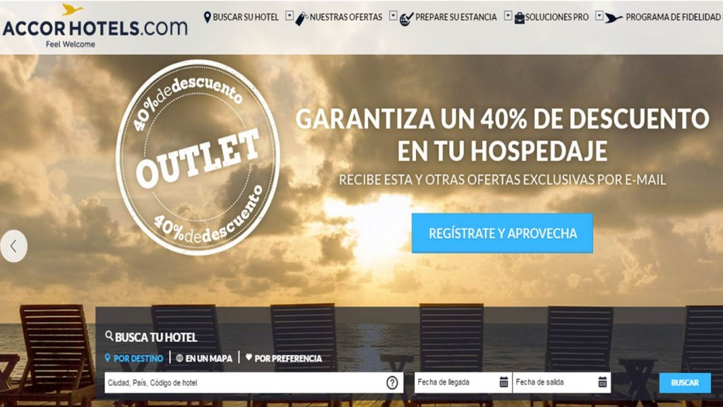 Accor Hotels  Web